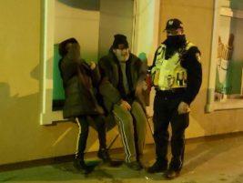Milanówek, pomoc bezdomnym, straż miejska
